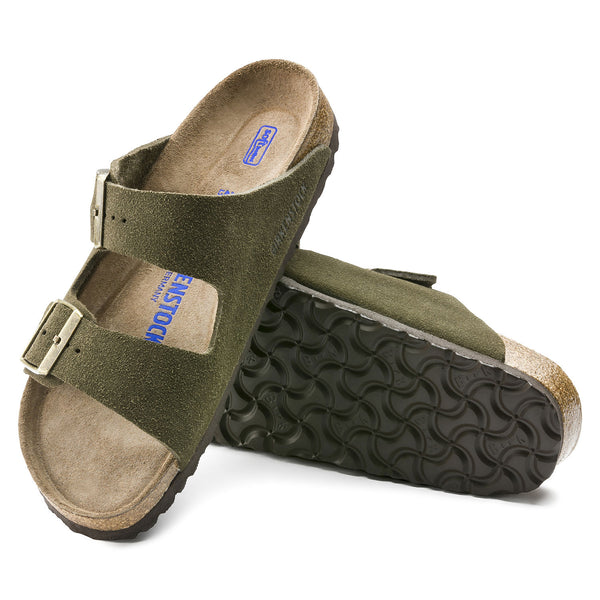 Arizona Soft Footbed Suede - Forest