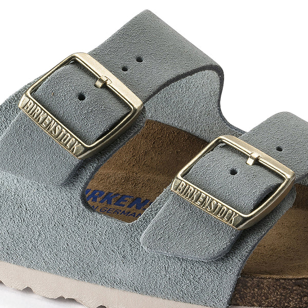 Arizona Soft Footbed Suede - Light Blue