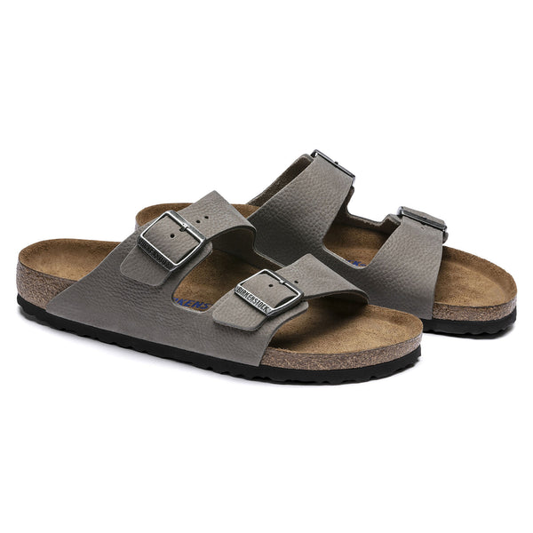 Arizona Soft Footbed Nubuck Leather - Soft Whale Gray