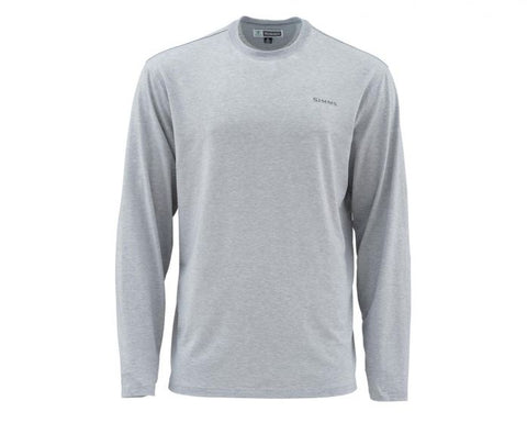 BugStopper LS Tech Tee - Granite