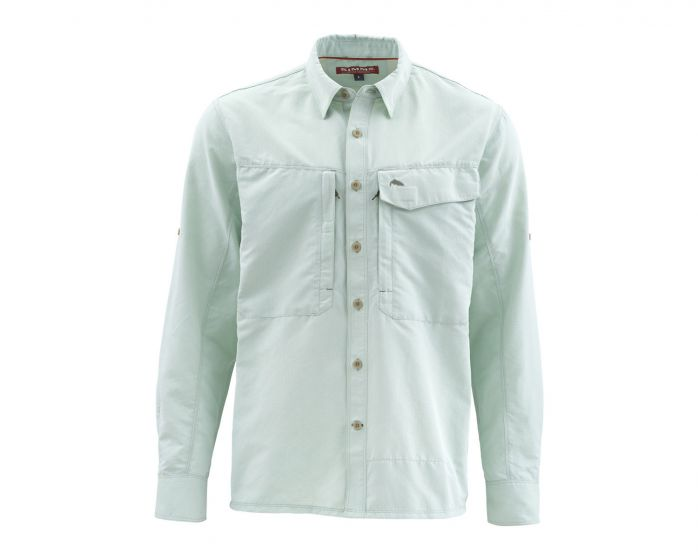 LS Guide Shirt Marle - Pale Green