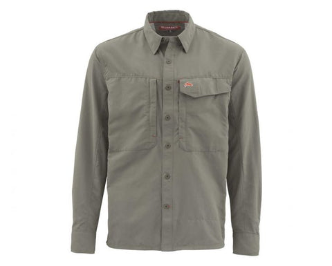 LS Guide Shirt Solid - Olive