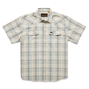 H Bar B Snapshirt: Panhandle Plaid - Dakota