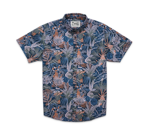 Mansfield Shirt- Glades: Midnight Blue