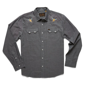 Crosscut Deluxe- Desert Trip: Spaceship Grey Oxford