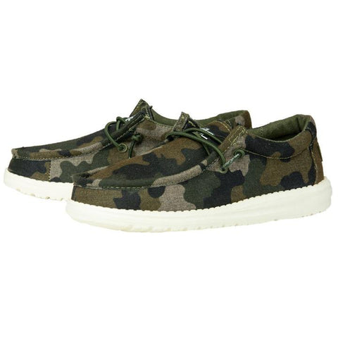Youth Wally Print- Camo