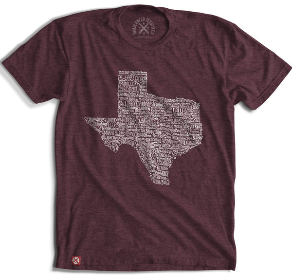 Texas Towns SS T-Shirt