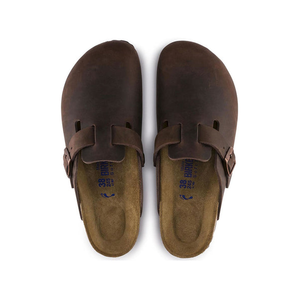 Boston Soft Footbed Oiled Leather Habana