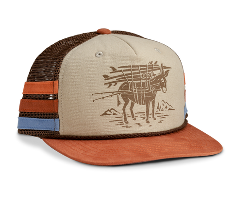 Burro Structured Snapback