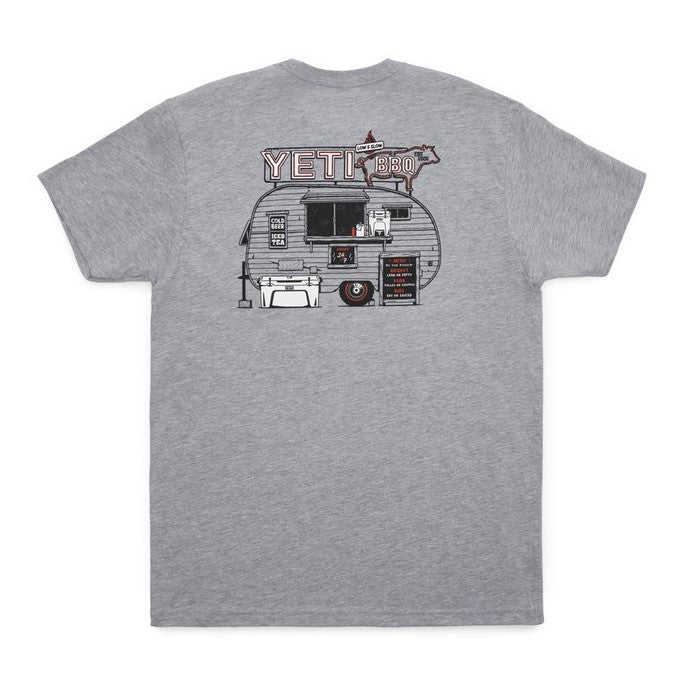 BBQ Trailer SS Pocket T-Shirt