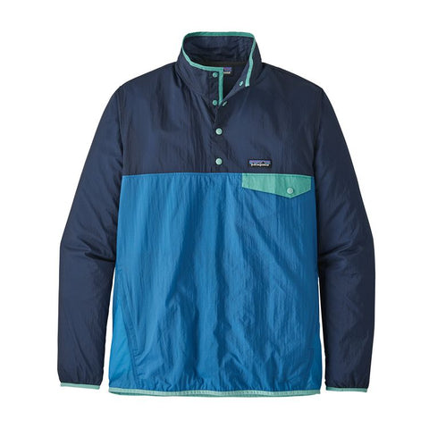 M's Houdini Snap-T Pullover - Port Blue