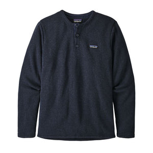M Better Sweater Fleece Henley Pullover