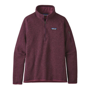 W's Better Sweater 1/4-Zip Fleece