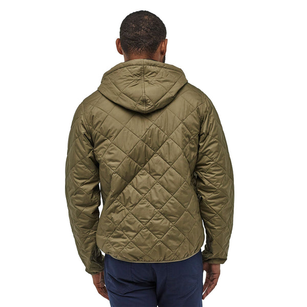 M Diamond Quilted Bomber Hoody