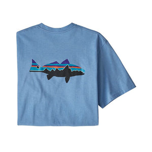 M's Fitz Roy Redfish Responsibili-Tee® - Wilder Blue