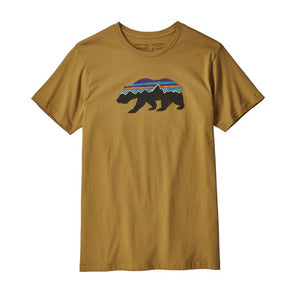 M's Fitz Roy Bear Cotton/Poly T-Shirt