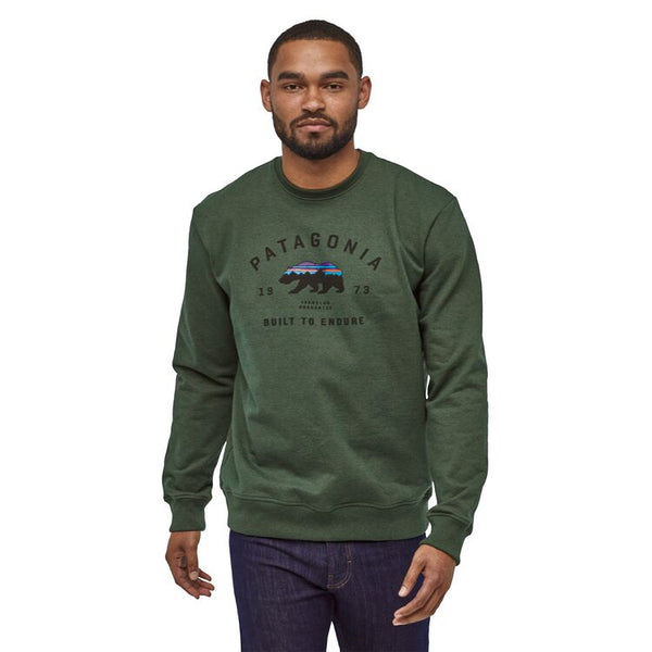 M's Arched Fitz Roy Bear Uprisal Crew Sweatshirt
