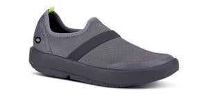 W's OOmg Fibre Low Shoe - Black and Grey