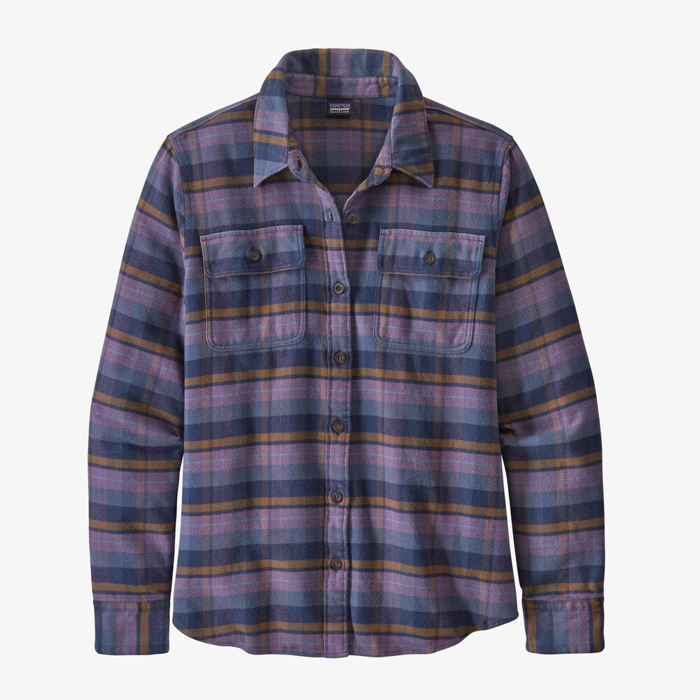 W Long Sleeve Fjord Flannel Shirt