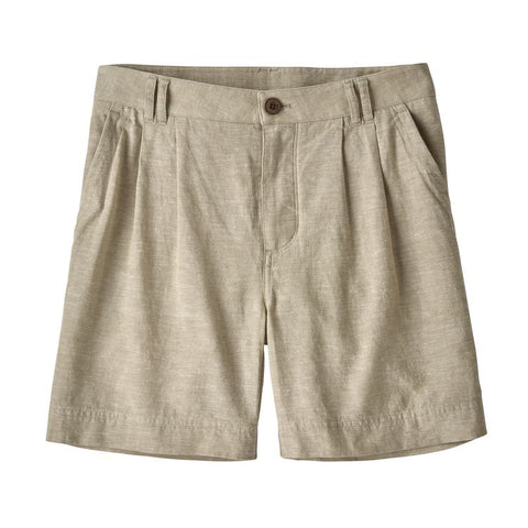 "W's Island Hemp Shorts - 6"" - Chambray: Shale"