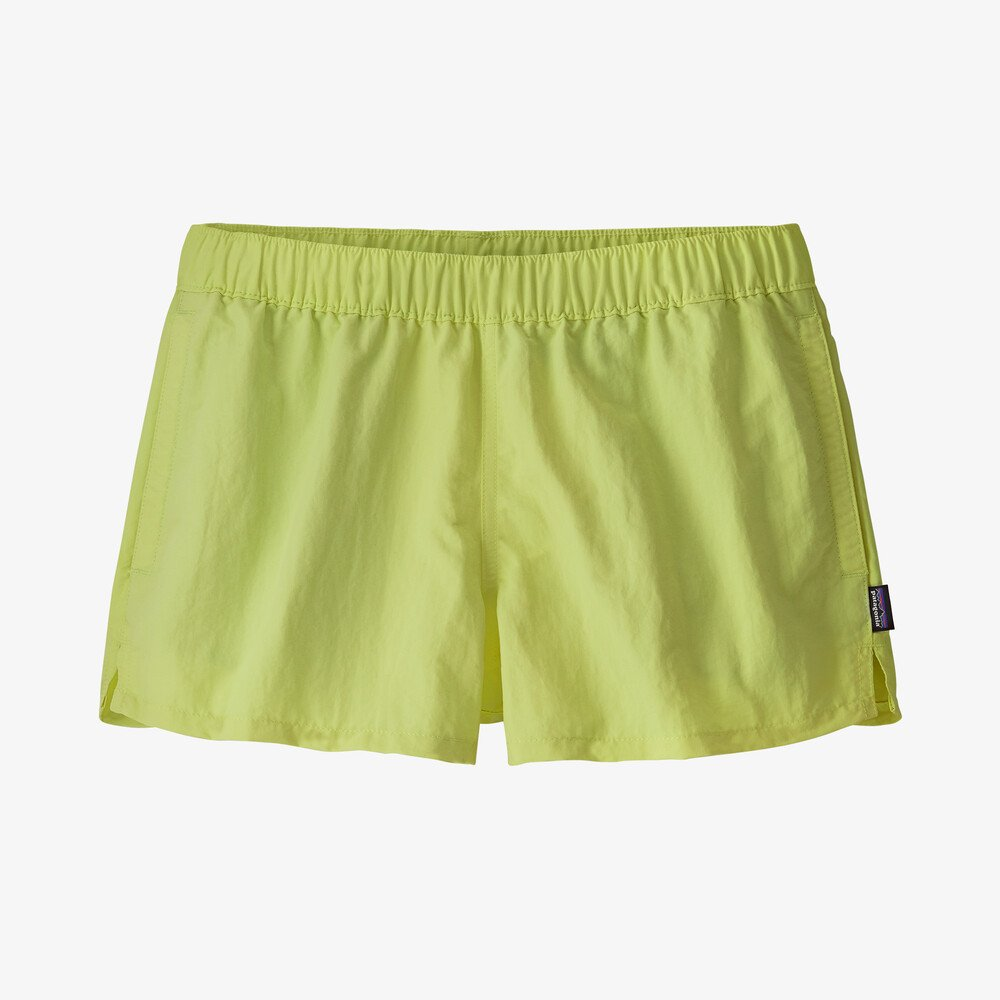 "W Barely Baggies Shorts - 2 1/2"" - Jellyfish Yellow"