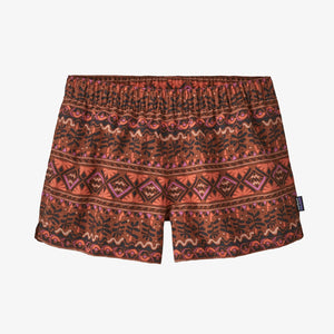 "W Barely Baggies Shorts - 2 1/2"" - Mangrove Tiki Small: Henna Brown"