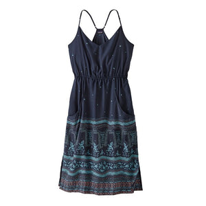 Lost Wildflower Dress - Forest Song: New Navy