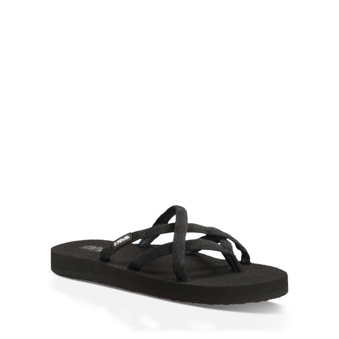 W Olowahu Flip Flops - Mix B Black On Black
