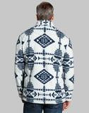 Double Plush Tribal 1/4 Zip Pullover