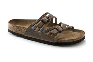 Granada Soft Footbed - Tobacco Oiled Leather
