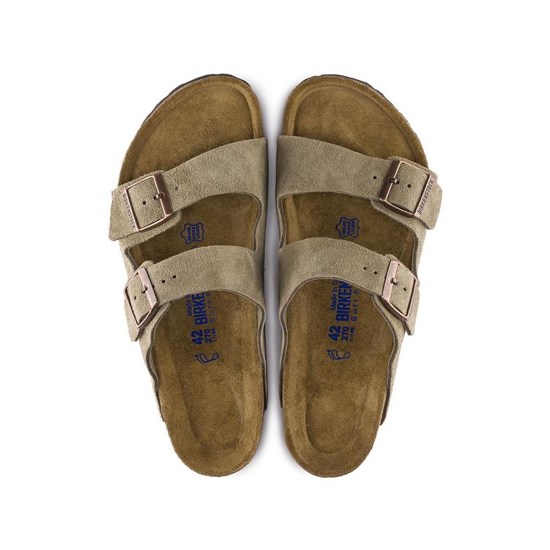 Arizona Soft Footbed Suede - Taupe – Hays Co. Outfitters