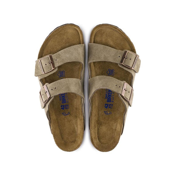 Arizona Soft Footbed Suede - Taupe