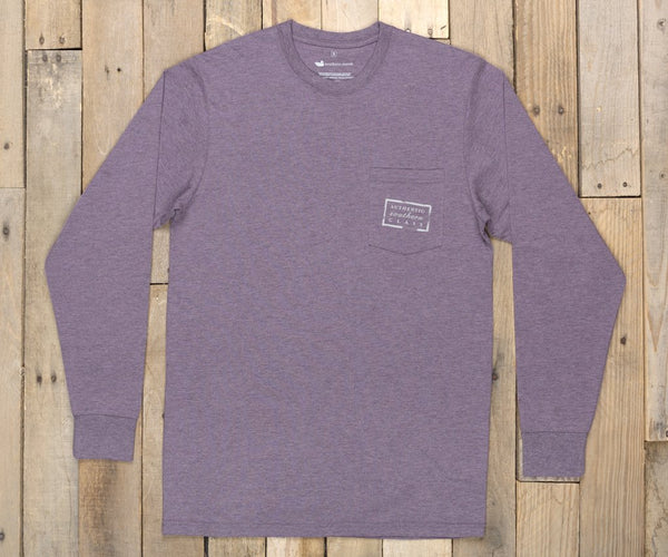 Authentic Tee- Heather- Long Sleeve