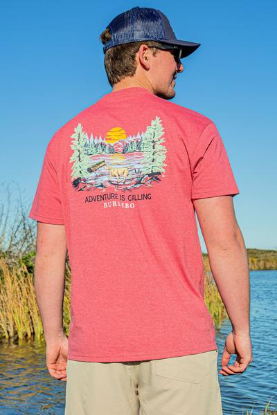 Adventure Is Calling SS Pocket T-shirt