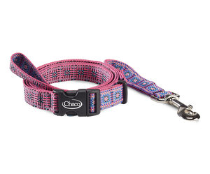 Dog Leash - Squared Magenta