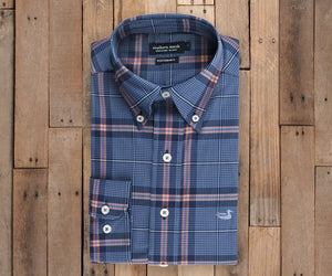 Marion Performance Plaid Dress Shirt