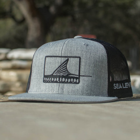 Roller Hat - Gray/Black