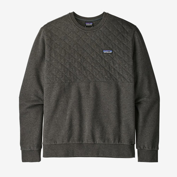 M Cotton Quilt Crewneck Sweatshirt