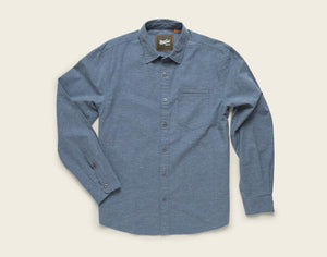 Enfield Longsleeve- Speckled Oxford