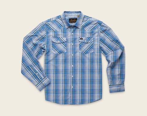H Bar B Longsleeve: Panhandle Plaid