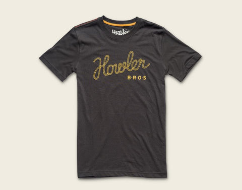 Howler Tie Down T-Shirt - Antique Black