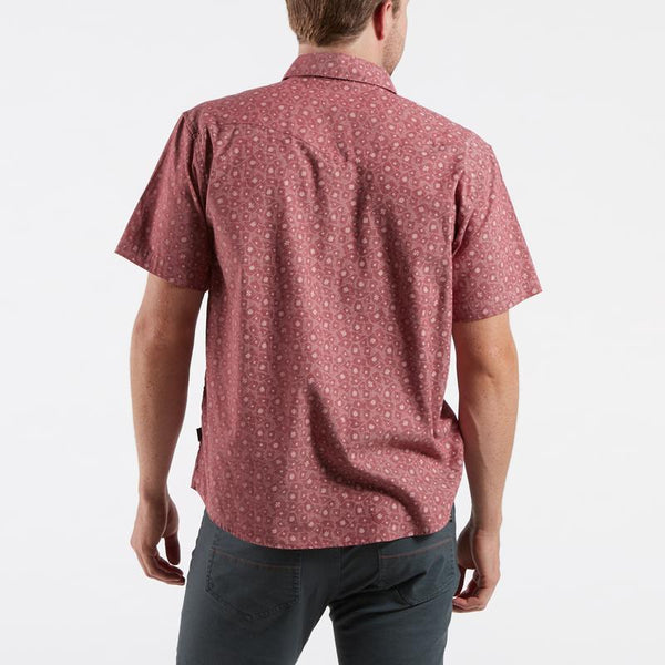 H Bar B Snapshirt: Little Agave - Currant Red