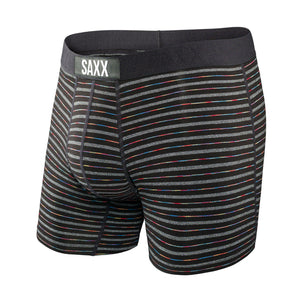 Vibe Boxer Brief - Black Gradient Stripe
