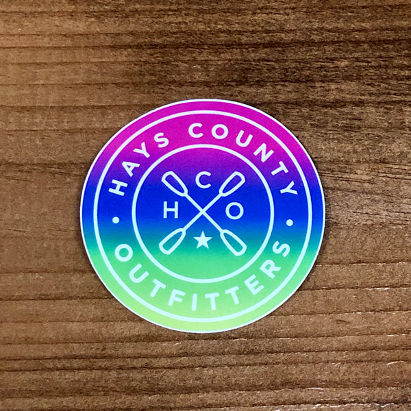 HCO Badge Stickers