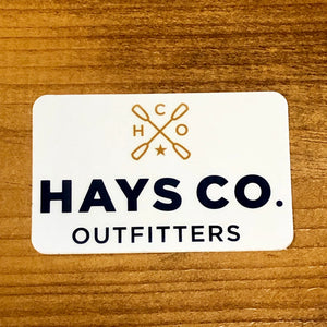 HCO Logo Sticker