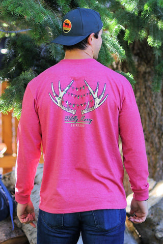 Wildly Merry LS Pocket T-Shirt