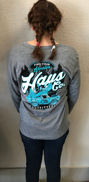 HCO Find Your Adventure L/S T-Shirt