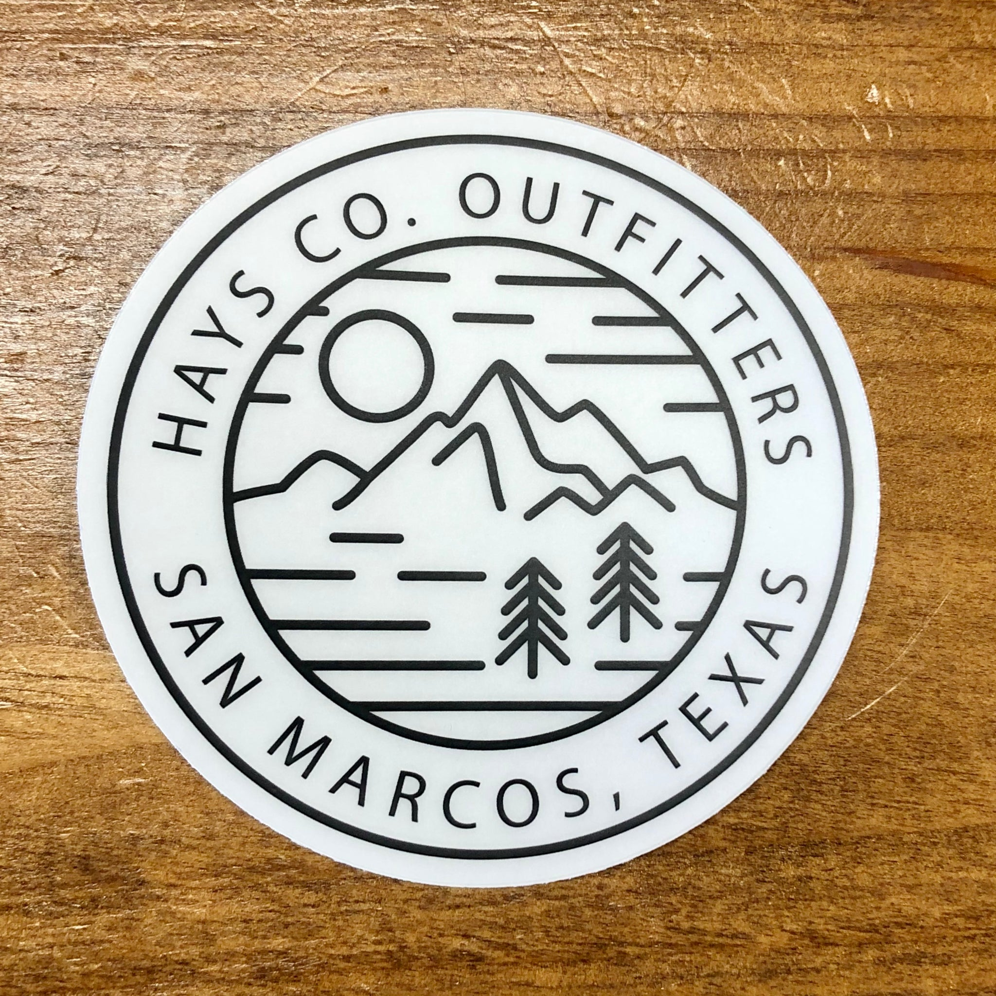 HCO Mountain View Sticker