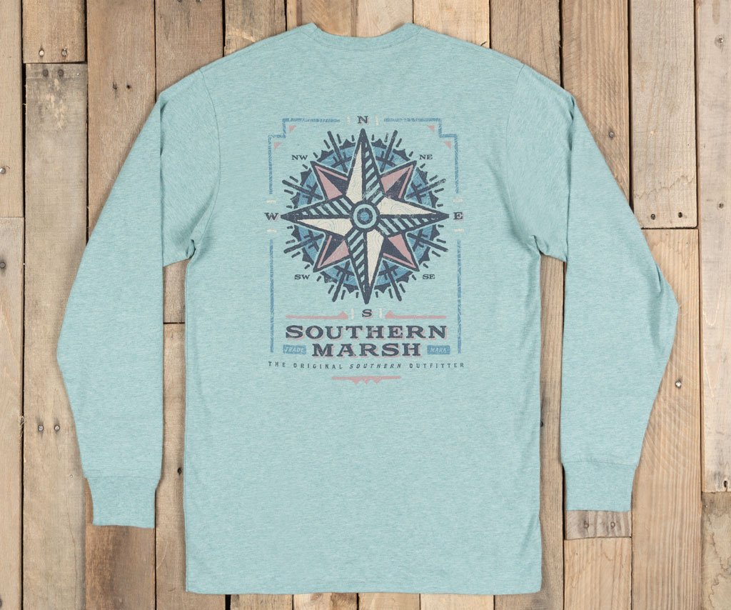 Branding Tee- Compass- Long Sleeve