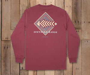 Aztec Catch LS T-Shirt